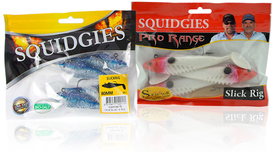 How to fish with Squidgies Slick Rigs